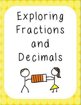 Exploring Fractions and Decimals Activity Sheets