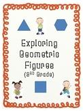 Exploring Geometric Figures 2D and 3D Shapes-3rd Grade