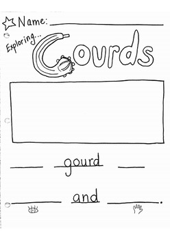 Exploring Gourds! Writing to describe