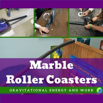 Gravity And Motion Investigation | Marble Run Roller Coaster Science And STEM