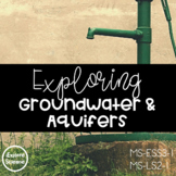 Exploring Groundwater and Aquifers (NGSS MS-ESS3-1) (5E Model Explore & Explain)