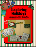 Exploring Holidays Around the World with Brochures, Map, a