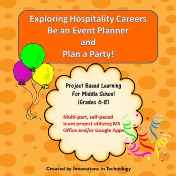 Exploring Hospitality Careers:  Be an Event Planner & Plan a Party!