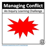 Inquiry based Learning Activities about conflict