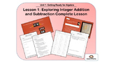 Exploring Integer Addition and Subtraction Complete Lesson