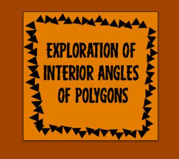 Exploring Interior angles of polygons