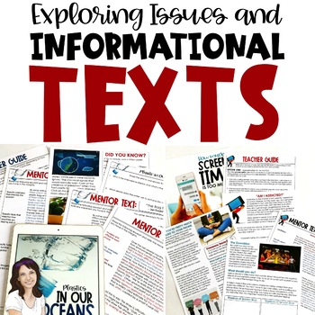 Exploring Issues and Informational Text BUNDLE