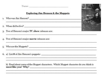 Exploring Jim Henson and the Muppets