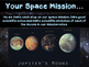 Exploring Jupiter and the Galilean Moons (PowerPoint and Mission Notes brochure)