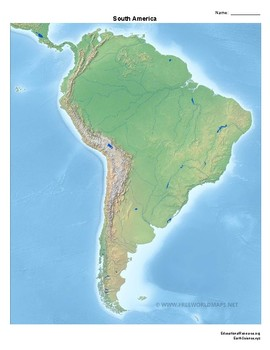 Exploring Landforms of North and South America