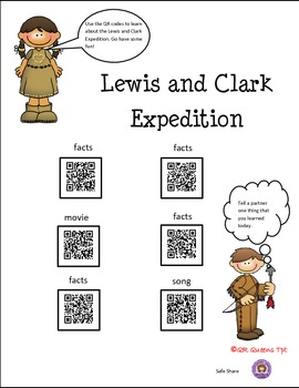 Lewis and Clark using QR Codes