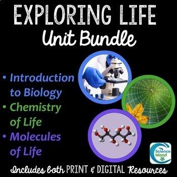 Exploring Life Unit Bundle - Introduction to Biology Curriculum