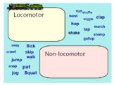 Exploring Locomotor and Non-Locomotor Movement