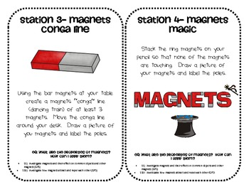 Exploring Magnets Centers