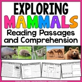 Mammals - Reading Passages and Comprehension Activities |