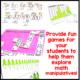 Exploring Manipulatives Games and Activities
