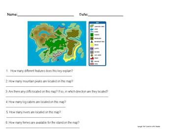 Exploring Map Skills