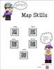 Map Skills using QR Codes