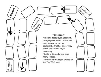 Exploring Maps Activity Packet
