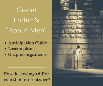 Analyzing Masculine Stereotypes (Nonfiction Reading & Research): ELA 9-12
