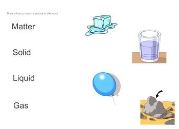 Exploring Matter: Vocabulary