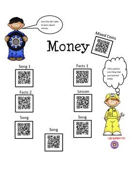 Money, Money,Money using QR Codes