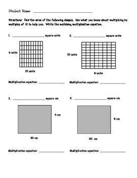 Exploring Multiplying by 10