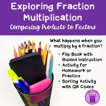Exploring Multiplying by a Fraction TEKS 6.3B Comparing Factors to the Products