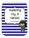 Exploring My 5 Senses Unit