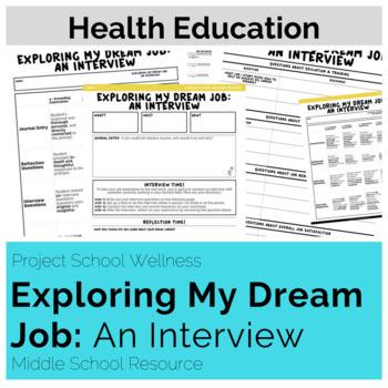 Exploring My Dream Job: An Interview (Career Lesson Plan, No Prep)