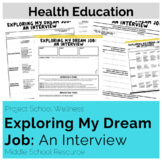 Exploring My Dream Job: An Interview (Career Lesson Plan,