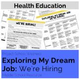 Exploring My Dream Job: We're Hiring (Career Lesson Plan Occupational Health)