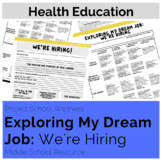 Exploring My Dream Job: We're Hiring (Career Lesson Plan O