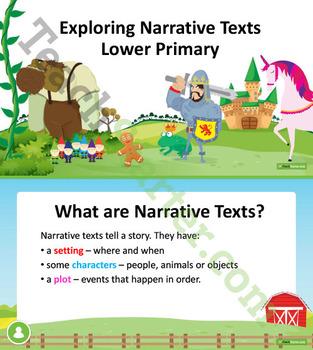 Exploring Narrative Texts Unit Plan – Year 1 and Year 2