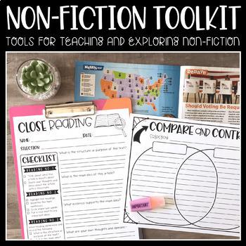 Exploring Non-Fiction {Using Classroom Periodicals}