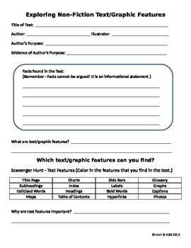 Exploring Nonfiction Text/Graphic Features