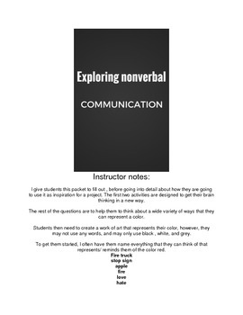 Exploring Nonverbal Communication ( art, communications, p