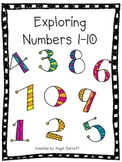 Exploring Number 1-10 Worksheets
