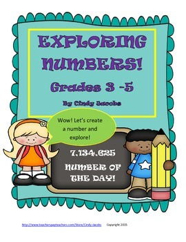 Exploring Numbers with Number of the Day