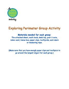 Exploring Perimeter Group Activity
