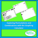 Algebra 1 - Exploring Permutations and Combinations with t