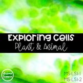 Exploring Plant and Animal Cells and Organelles - Distance