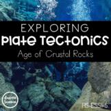 Exploring Plate Tectonics: Age of Crustal Rocks -- Data La