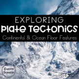 Exploring Plate Tectonics: Landforms & Surface Features Data Lab (NGSS HS-ESS2-1