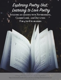 20 Lesson Unit - Learning to Love Poetry for 4th-6th for H