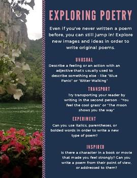 Exploring Poetry Handout