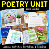 Poetry Unit with Fun Lessons and Activities for Introducing Poetry