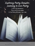 Exploring Poetry with Notebooking Sampler - Learning to Lo