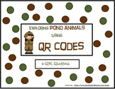 Pond Animals (animal habitats) with QR codes