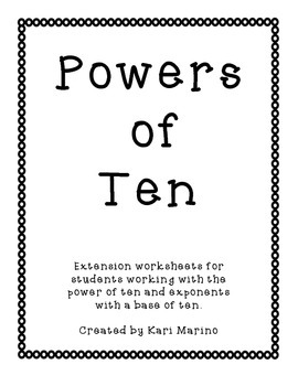 Exploring Powers of Ten